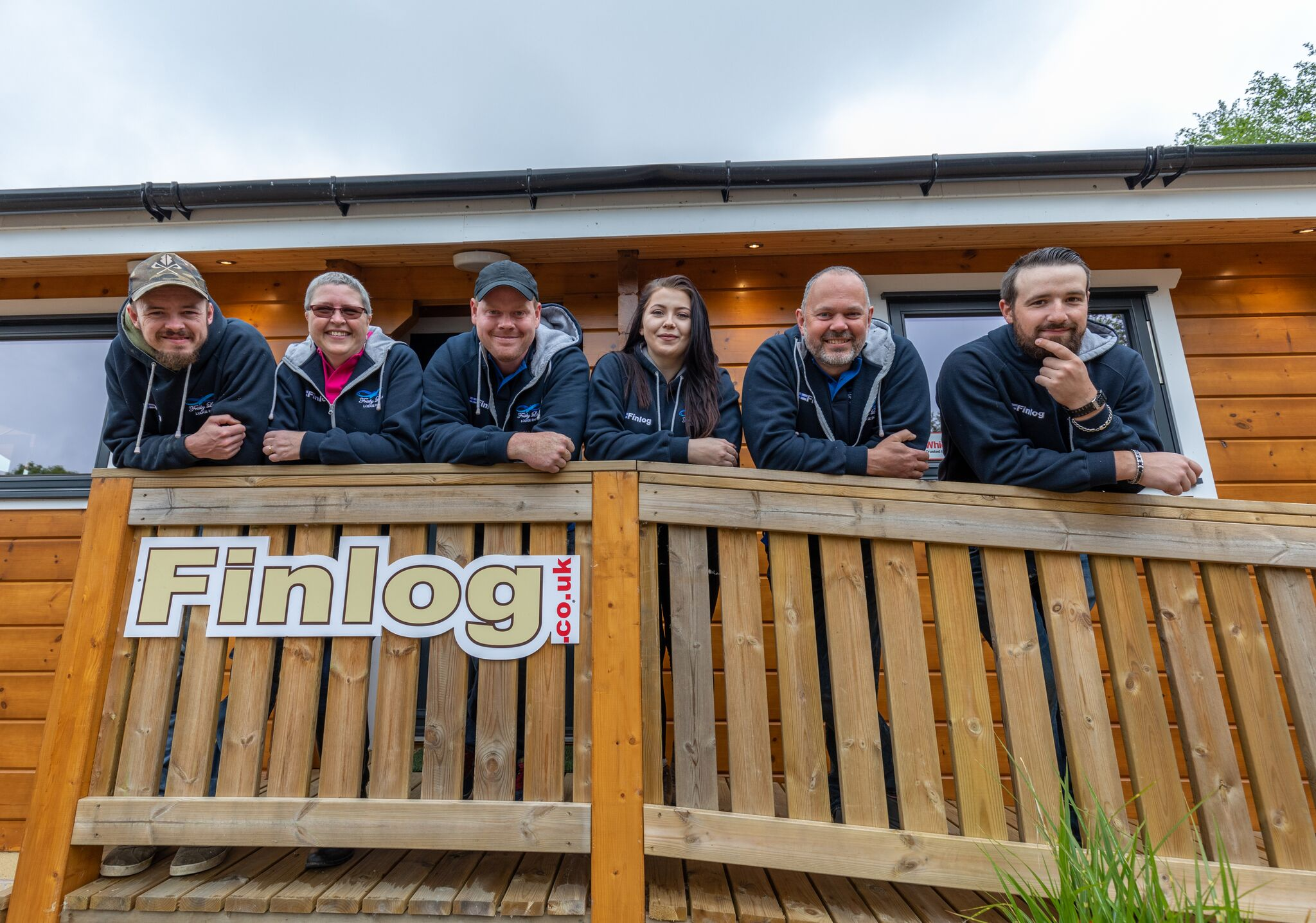 Photo of the Finlog Team